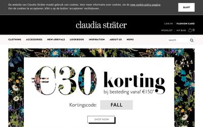 Claudia Sträter website