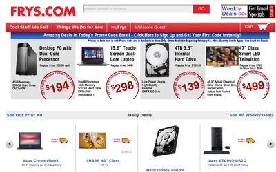Frys.com website