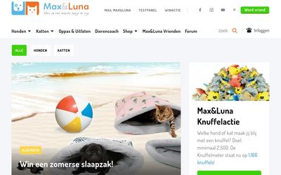 Max&Luna website