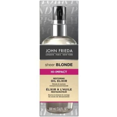 Sheer blonde hi impact blonde reviving oil