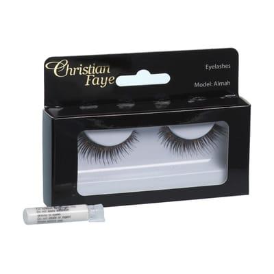 Christian Faye Eyelashes Almah With Glue