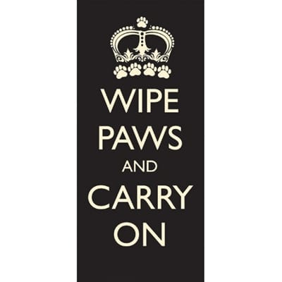 Pet rebellion schoonloopmat wipe paws carry on