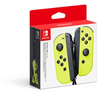 Switch Joy-Con controller - geel