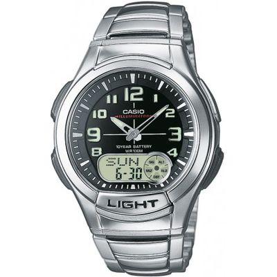 Casio horloge mm Staal zilver