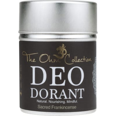 The Ohm Collection Deo Dorant Poeder 120g Frankincens