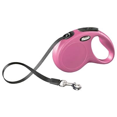 Flexi rollijn classic tape roze