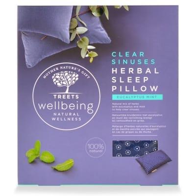 Herbal sleep pillow clear sinus