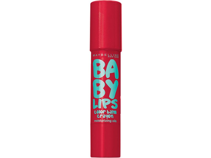Babylips Color Balm Crayon - 5 Candy Red - lipbalm