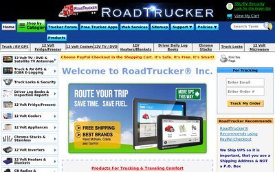 Roadtrucker.com website