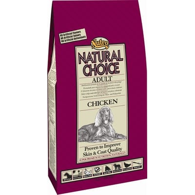 Nutro Choice Dog Adult Kip Rijst 2 kg
