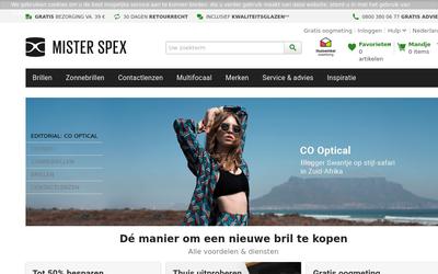 Mister Spex website