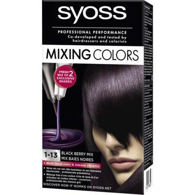 SYOSS Mixing Colors Black Mix 1