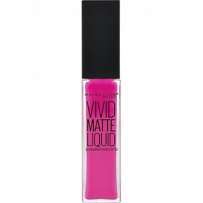 Maybelline Lip Vivid Matte Liquid - 15 Electric Pink