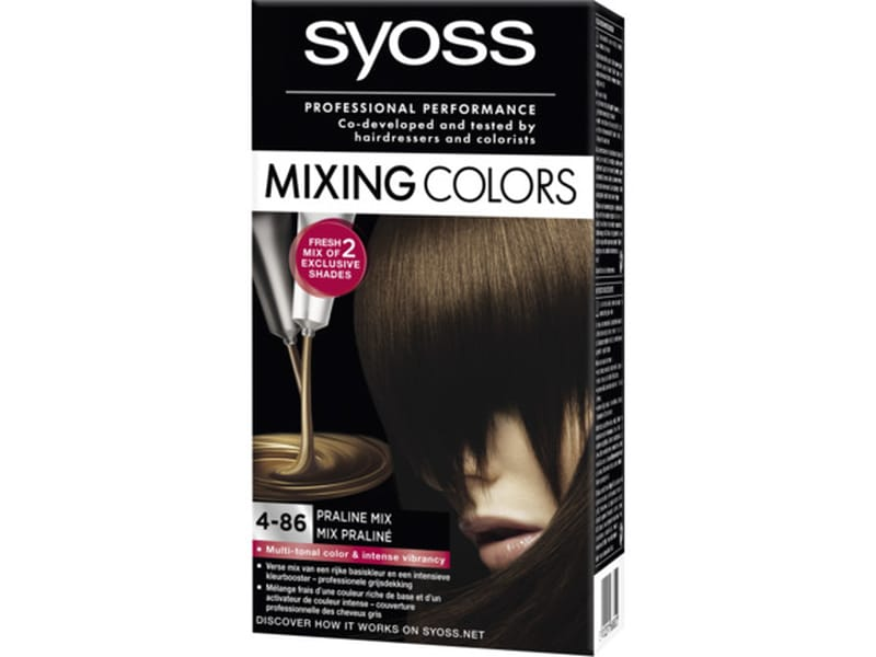 Syoss Mixing Colors 4-86 Praline Mix