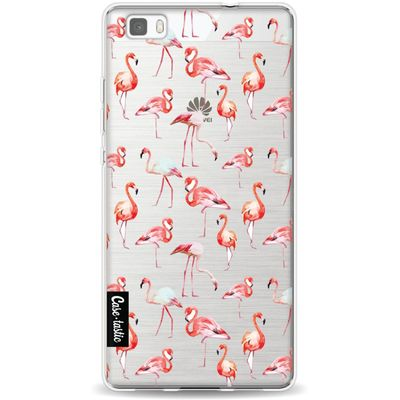 Casetastic Softcover Huawei P8 Lite Flamingo Party