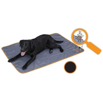 Bodyguard dog blanket anti insect zwart