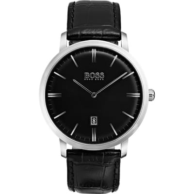 Hugo Boss HB1513460 Tradition Horloge Zwart 3