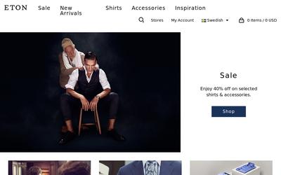 Etonshirts website