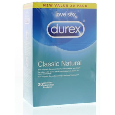 Durex Condooms Classic Natural