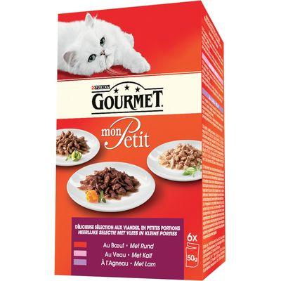 Gourmet Mon Petit Vlees 6 x 50 g