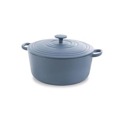 BK Bourgogne Braadpan 28 cm Denim Blue