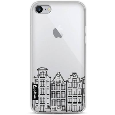 Casetastic Softcover Apple iPhone 8 Amsterdam Canal Houses