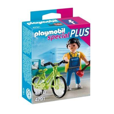 Playmobil 4791 Klusjesman met fiets