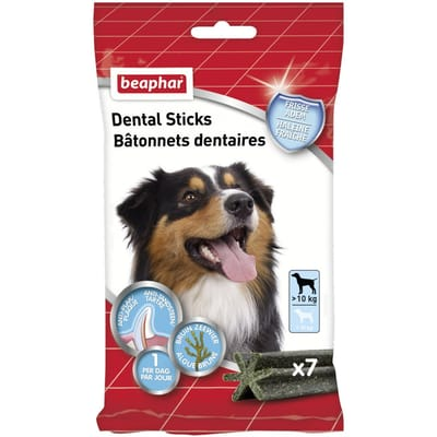 Beaphar Dental Sticks 7 stuks
