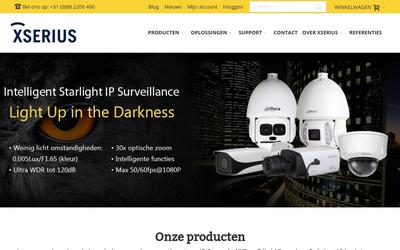 Xserius B.v. website