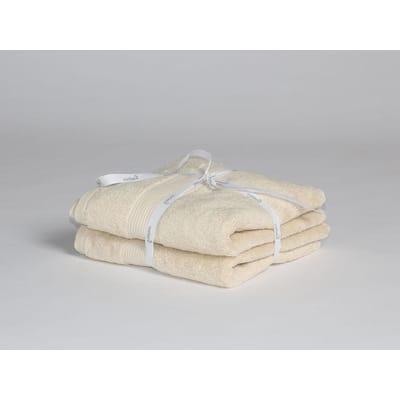 Yumeko Handdoek beige 2 st