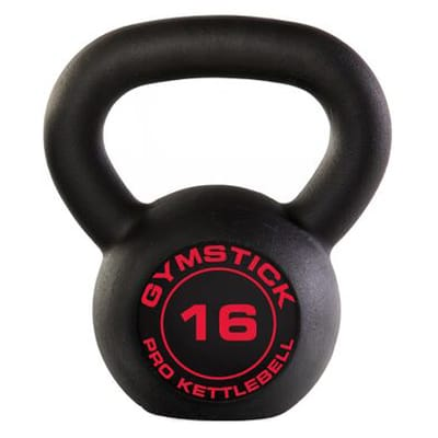 Gymstick Pro Neopreen Kettlebell Zwart Met Online 16 kg