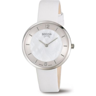 Boccia 3244-01 Dames horloge