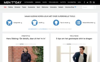Men Today website