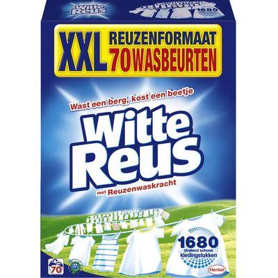 Witte Reus waspoeder 70 wasbeurten Kwartaalverpakking