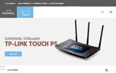 Router Whinkel website