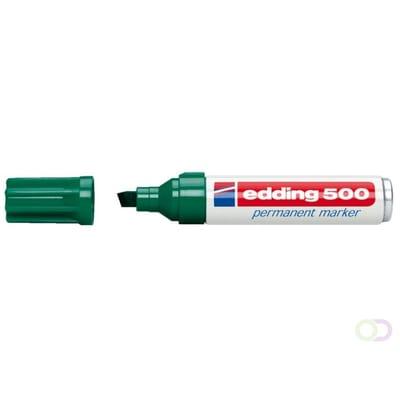 edding 500 schuin groen