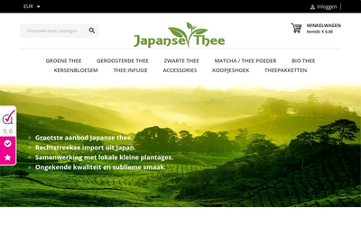 Japanse Thee website