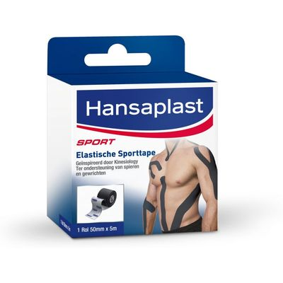 Hansaplast Sporttape Zwart