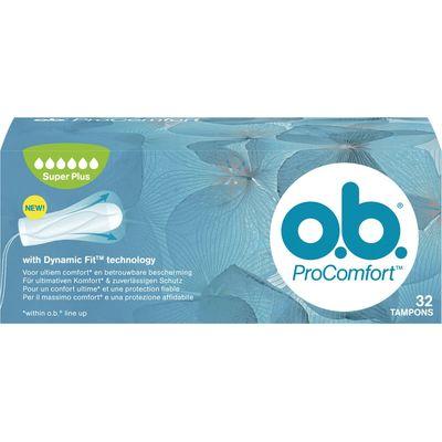 OB Tampons ProComfort Super Plus