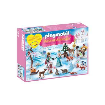 Playmobil Adventskalender Koninklijk Schaatsfeest 9008