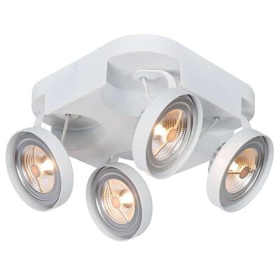 Lucide VERSUM AR111 Plafondspot LED 4x10W 2700K Wit