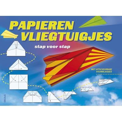 Stap voor stap papieren vliegtuigjes