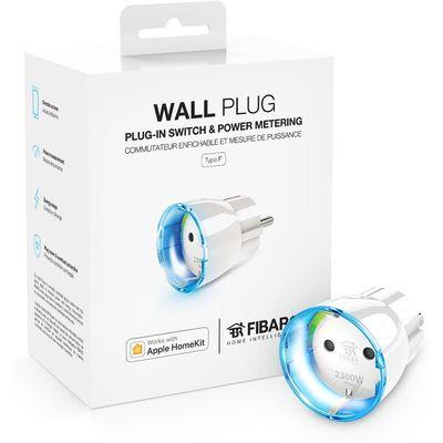 FIBARO Wall Plug Type F works with Apple HomeKit