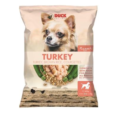 Duck turkey nuggets