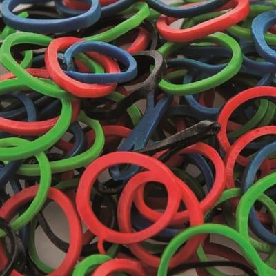 Artero elastiekjes in diverse kleuren