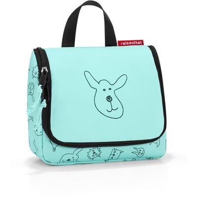 Reisenthel Toiletbag S Kids L Mint cats dogs