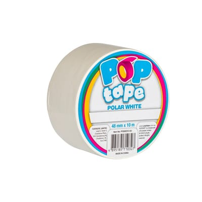 Pop Tape Polar White - 48 mm x 10 m
