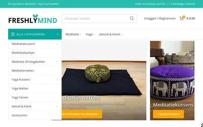 FreshlyMind website