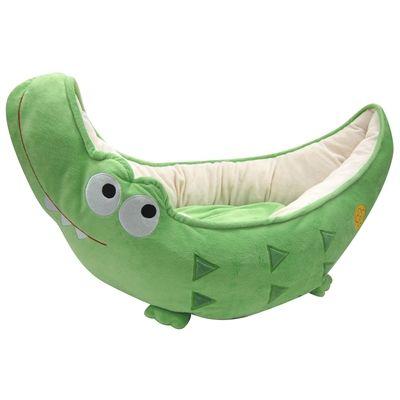 Happy puppy hondenmand krokodil bed