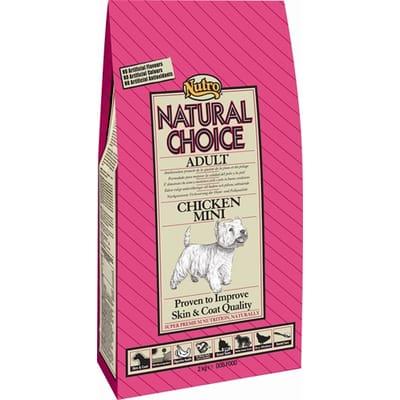 Nutro Choice Dog Mini Kip Rijst 2 kg